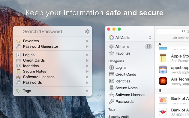 1Password 6 ist da 1Password 1Password 6.0 ist da – iCloud Synchronisation und Mini-Redesign 1Password 6 ist da 630x394