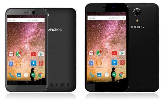 Archos 40 & 50 Power Archos CES 2016: Archos schickt vier neue Smartphones ins Rennen Archos 40 50 Power 680x413
