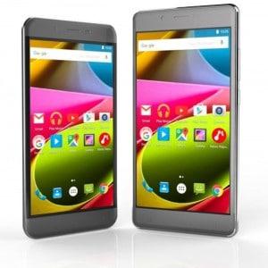 Archos 50 Cobalt und 55 Cobalt+ Archos CES 2016: Archos schickt vier neue Smartphones ins Rennen Archos 50 und 55 Cobalt 300x300
