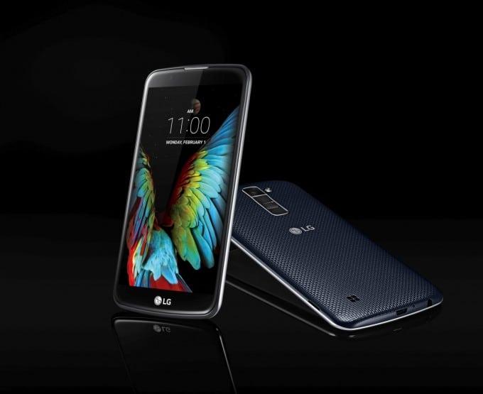 LG K10 auf CES 2016 enthüllt LG K CES 2016: LG K-Serie enthüllt – Mittelklassesmartphones für junge Leute Bild LG K Series K10 1 680x555