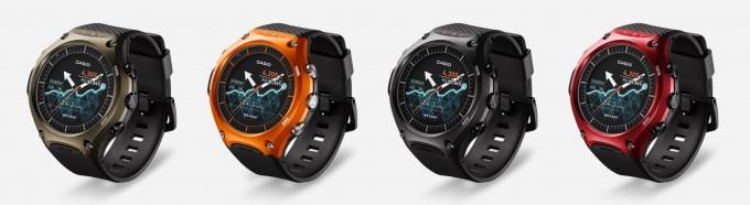 Casio WSD F10 Lineup Casio CES 2016: Casio stellt erste Smartwatch vor Casio WSD F10 Lineup 680x186