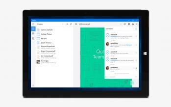 Dropbox landet bald als neue App auf Windows 10
