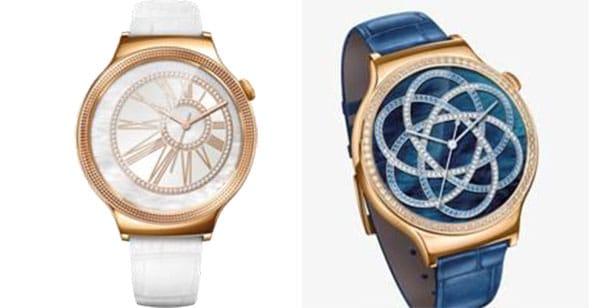Huawei Watch Juwel und Elegant huawei CES 2016: Huawei kommt mit neuen Premium-Geräten daher Huawei Watch Juwel und Elegant