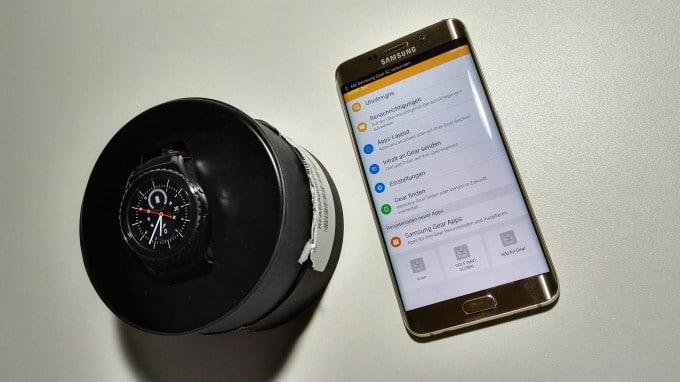 Samsung Gear S2 - die App samsung gear s2 Samsung Gear S2 im Test – ein Handschmeichler der überzeugen kann IMG 20151120 183701 680x382