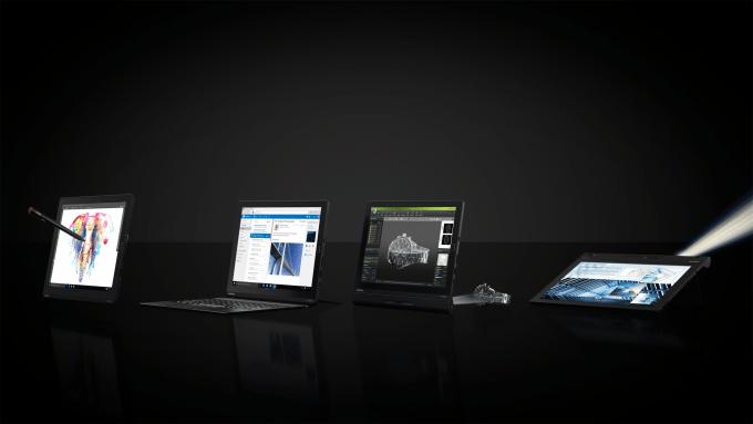 Lenovo Thinkpad X1 Tablets thinkpad x1 carbon 2015 CES 2016: Lenovo geht mit Thinkpad X1 Familie an den Start Lenovo X1 Tablet Family 680x383