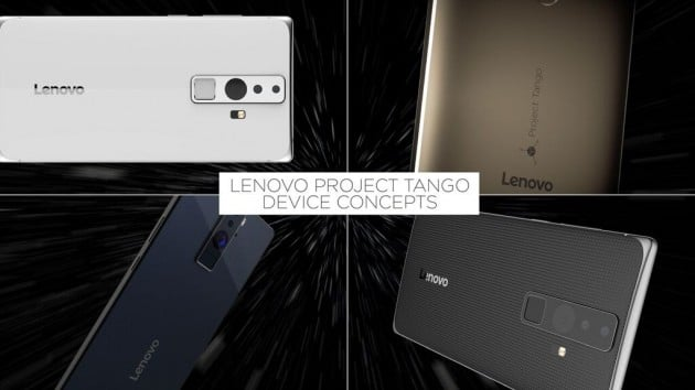 Lenovo kommt mit Project Tango Lenovo Lenovo bringt im Sommer erstes Project Tango Smartphone auf den Markt Lenovo kommt mit Project Tango 630x354