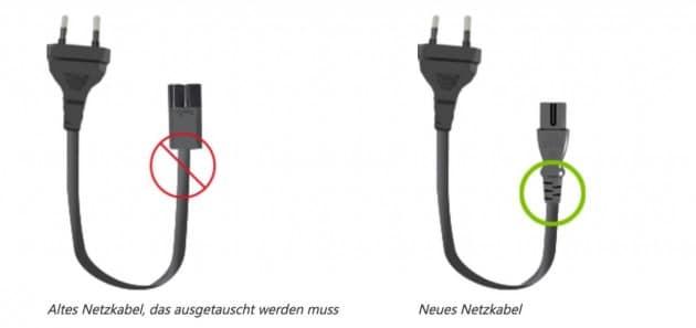 Microsoft ruft Surface Kabel zurück Surface Microsoft ruft Ladekabel von einigen Surface Modellen zurück Surface ruft Kabel zurueck 630x297