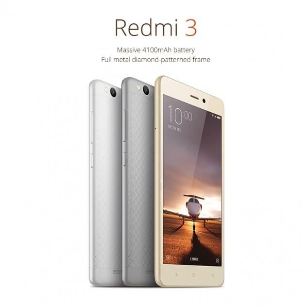 Xiaomi Redmi Note 3 xiaomi Xiaomi stellt Xiaomi Redmi 3 vor – gutes Smartphone zu kleinem Geld Xiaomi Redmi 3 630x630