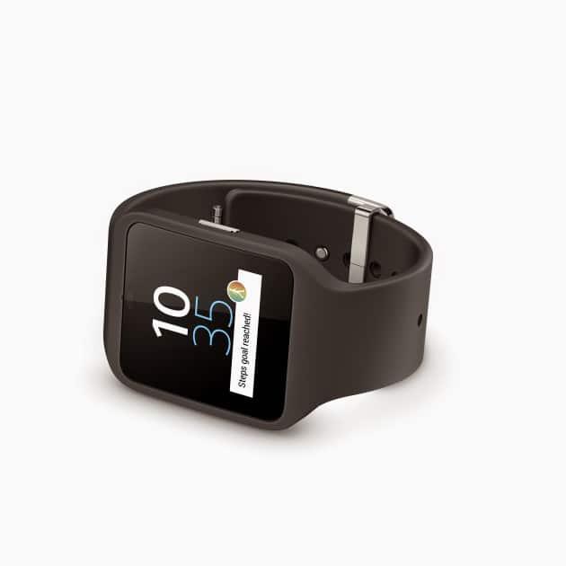 Sony Smartwatch 3 - Pressebild zur Abwechslung sony smartwatch 3 Sony Smartwatch 3 unter der Lupe – das gewisse Etwas fehlt 02 SmartWatch 3 Black black 630x630