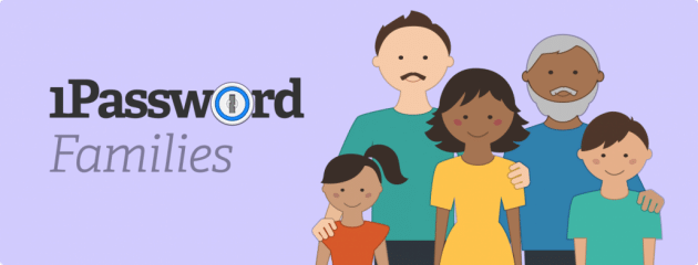 1Password families ist da 1Password Agilebits führt Familien-Abonnement für 1Password ein 1Password families ist da 630x240