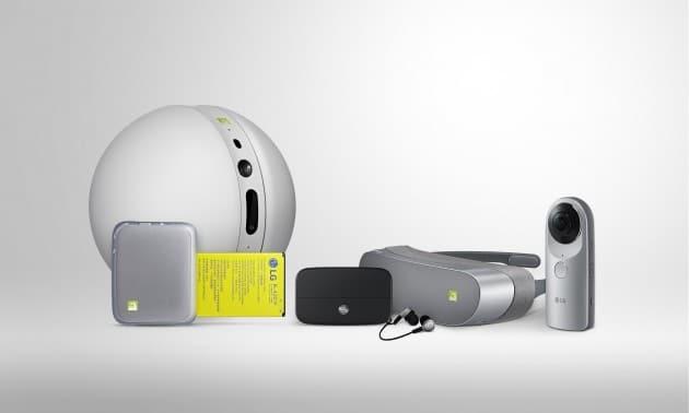 LG G5 Friends Portfolio lg g5 MWC 2016: ein modaleres LG G5 ist da Bild LG Friends 630x378