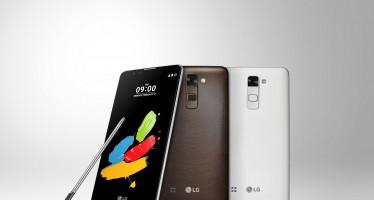 MWC 2016: LG legt mit LG Stylus 2 nach