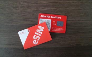 Vodafone und O2 führen eSIM ein