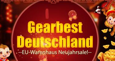 Neujahr-Sale bei Gearbest