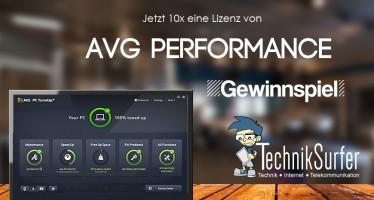 Gewinnspiel: mehr Leistung für deine Technik mit AVG Performance