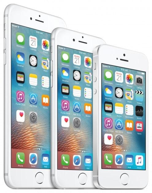 iPhone SE - das kleinste Gerät der Familie iphone se Geschrumpftes iPhone präsentiert – das iPhone SE auf dem Weg zur Mittelklasse iPhone Family US EN PRINT 495x630