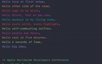 Apple WWDC startet am 13. Juni – Keynote mit Livestream angekündigt [2. Update]