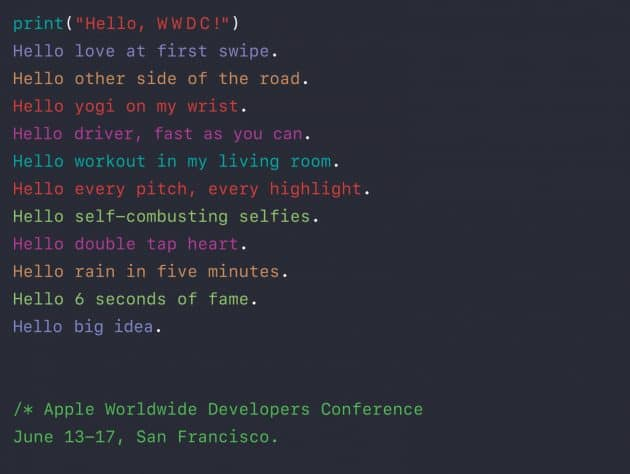 Apple WWDC startet am 13. Juni wwdc Apple WWDC startet am 13. Juni – Keynote mit Livestream angekündigt [2. Update] Apple WWDC startet am 13 Juni 630x474