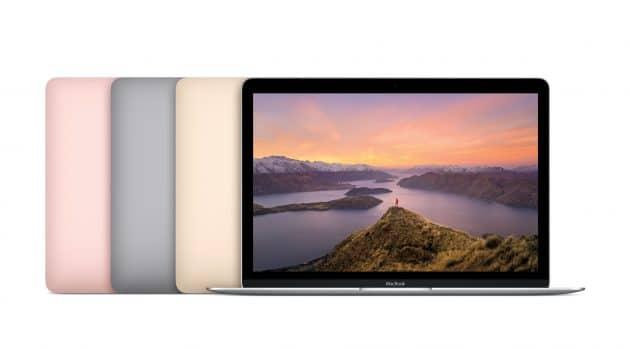 Das neue MacBook in neuen Farben MacBook Apple verbessert MacBook Portfolio früher als erwartet – ab morgen im Handel Das neue MacBook in neuen Farben 630x348