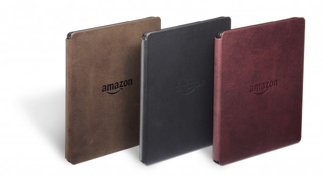 Kindle Oasis mit neuem Ledercover kindle oasis Amazon bringt Kindle Oasis an den Start – teuerster eBook Reader kommt Kindle Oasis mit neuem Ledercover 630x353