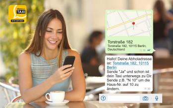 WhatsApp Taxi – bestelle dein Taxi mit WhatsApp