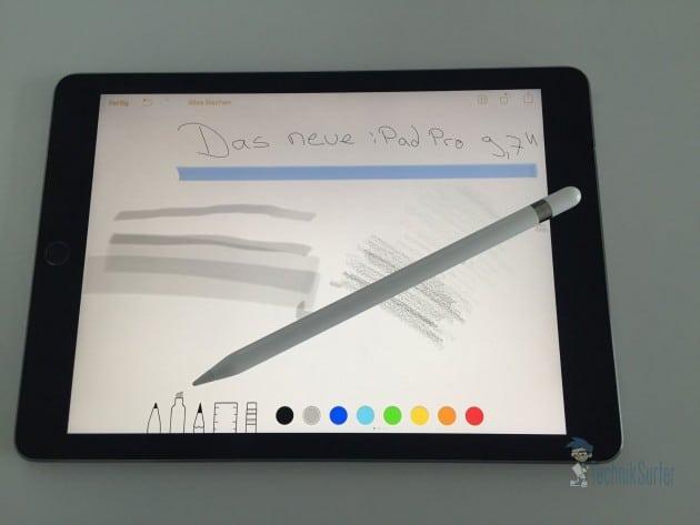 iPad Pro und der Apple Pencil ipad pro iPad Pro 9,7 Zoll unter der Lupe – es ist eben ein iPad iPad Pro und der Apple Pencil 630x473