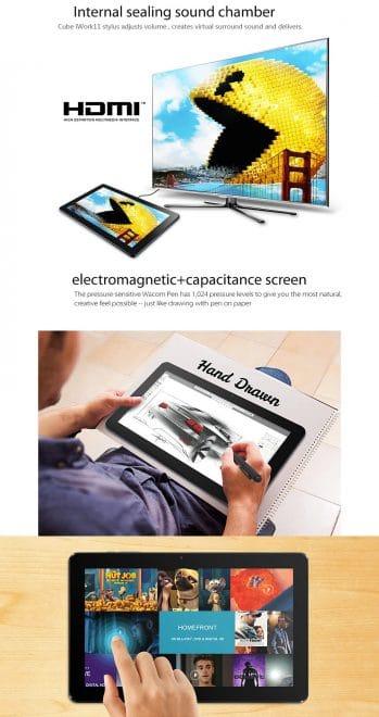 Cube iWork 11 bei Gearbest Gearbest Es ist wieder soweit: Gearbest Flash-Sale bietet zwei Cube Ultrabooks günstig an 201511041609092597 349x660