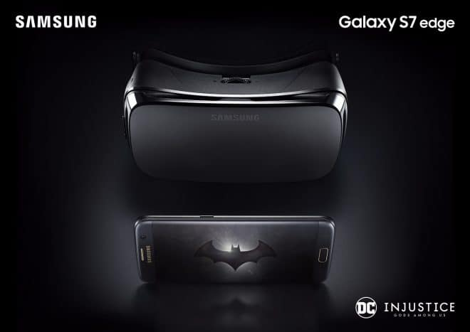 dv-c samsung galaxy s7 injustice edition batman Samsung Galaxy Samsung Galaxy S7 edge kommt in exklusiver Batman-Edition Samsung Galaxy S7 edge Injustice Edition KV 2 660x467