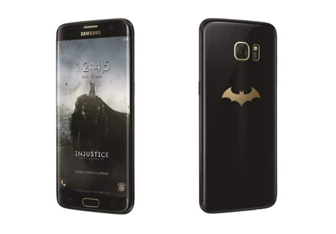 Samsung Galaxy Samsung Galaxy S7 edge kommt in exklusiver Batman-Edition Samsung Galaxy S7 edge injustice edition 660x461
