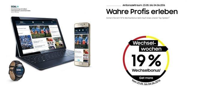 lo-c wechselwochen samsung Samsung Samsung Wechselwochen: 19 Prozent Rabatt auf viele Samsung Galaxy Produkte Samsung Wechselwochen 660x304