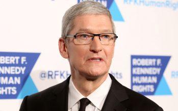 Tim Cook versucht Apple-Aktionäre zu beruhigen