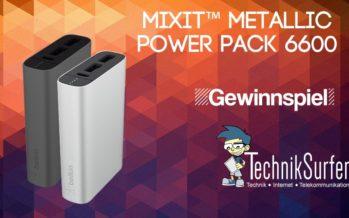 Gewinnspiel: volle Akkupower für dein Smartphone mit Belkin Power RockStar 6.600