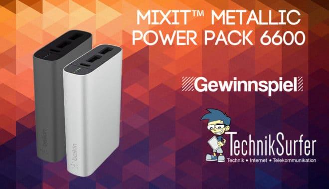 Belkin MixFit Gewinnspiel gewinnspiel Gewinnspiel: volle Akkupower für dein Smartphone mit Belkin Power RockStar 6.600 Banner Belkin MixFit Powerbank 660x379