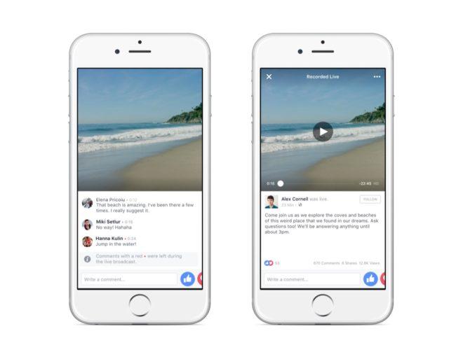 dv-c facebook live Facebook Live Facebook Live wird mit Warteraum und neuen Features getunet Facebook Live Video Warteraum 660x513