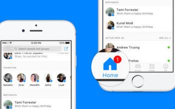 Facebook Messenger: Startseite wird komplett umstrukturiert