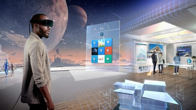 dv-c microsoft windows holographic Windows Holographic Microsoft öffnet Mixed-Reality Plattform Windows Holographic Microsoft Windows Holographic 660x371