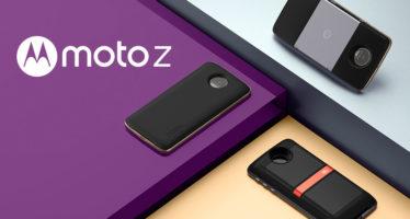 Lenovo zeigt Moto Z (Force) mit modularen Hüllen