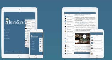 Größeres TechnikSurfer App-Update unterstützt iOS 10