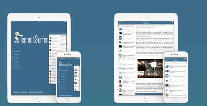 dv-c techniksurfer ios app version 3.2 TechnikSurfer App Größeres TechnikSurfer App-Update unterstützt iOS 10 Promo v3 2 660x338