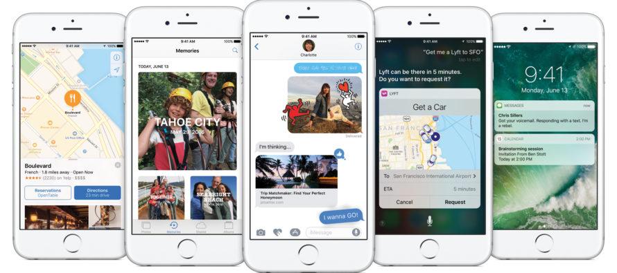 iOS 10 – der größte Schritt in der iOS Geschichte den es jemals gab