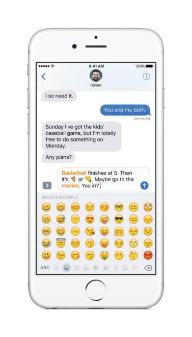 iOS 10 iOS 10 – der größte Schritt in der iOS Geschichte den es jemals gab iPhone MessagesTapReplace PR PRINT 377x660