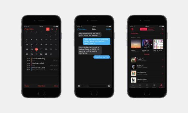 iOS 10 Konzept / Macworld apple Die WWDC 2016: Welche Neuerungen bringt Apples Entwicklerkonferenz? ios 10 release date rumours wishlist dark mode 1200 thumb 660x396