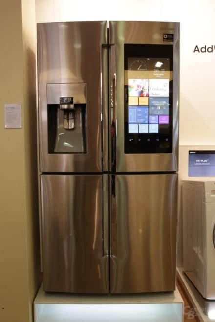 dv-c samsung kühlschrank Samsung Samsung bringt smarten Kühlschrank mit eigenem Betriebssystem nach Deutschland 1 1080