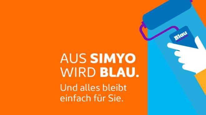 simyo simyo wird eingestellt, Kunden werden zu Blau migriert Simyo wird Blau 1280x720 660x371