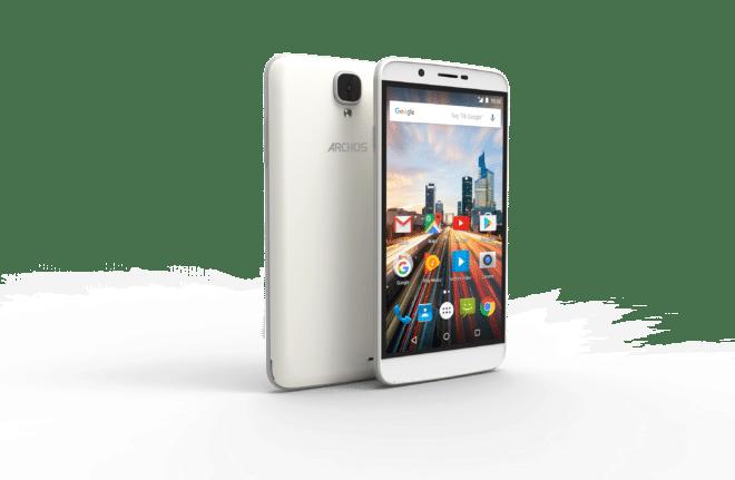 dv-c archos 55 helium Archos IFA: Archos schickt vier neue Einsteiger-Smartphones ins Rennen ARCHOS 55 Helium Pearl White 2 660x431