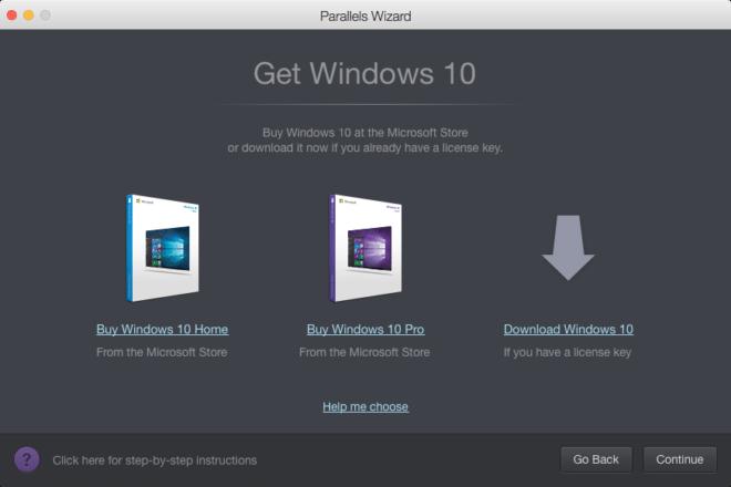 dv-c parallels desktop 12 parallels desktop 12 Parallels Desktop 12 mit brandneuer Toolbox erscheint heute Buying Windows 10 in Parallels Desktop12  screen2of2 2 660x440