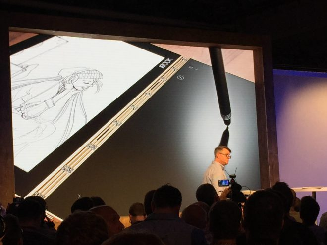 IMG_1064 Lenovo IFA: LenovoLaunch enthüllt das dünnste Convertible der Welt – das Lenovo Yoga Book IMG 1064 e1472676346895 660x495
