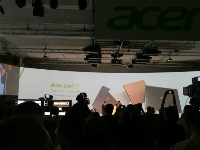 """IMG_3620 acer IFA: Acer präsentiert das """"dünnste Notebook der Welt"""" IMG 3620 660x495"""