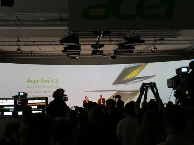 """IMG_3621 acer IFA: Acer präsentiert das """"dünnste Notebook der Welt"""" IMG 3621 660x495"""