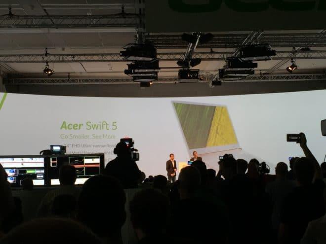 """IMG_3626 acer IFA: Acer präsentiert das """"dünnste Notebook der Welt"""" IMG 3626 660x495"""